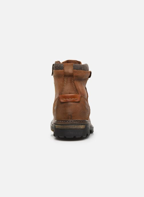 Ankle boots Dockers Mola Brown view from the right