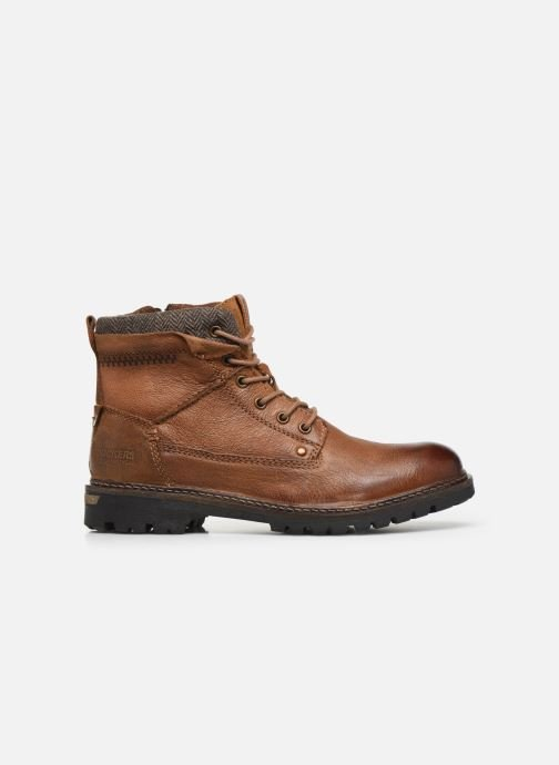 Ankle boots Dockers Mola Brown back view