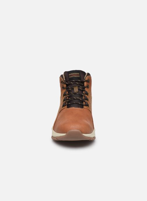 Trainers Dockers Crio Brown model view
