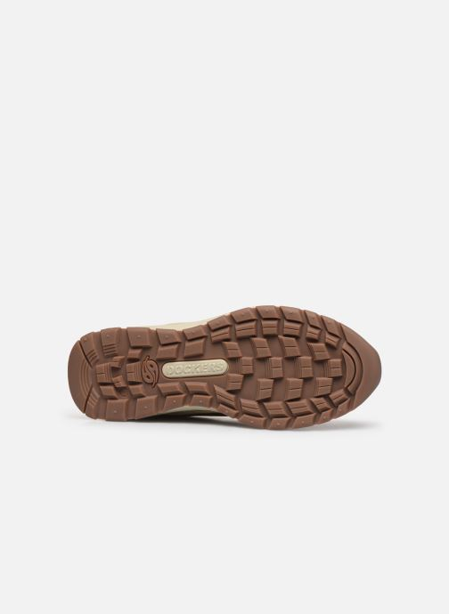 Baskets Dockers Crio Marron vue haut