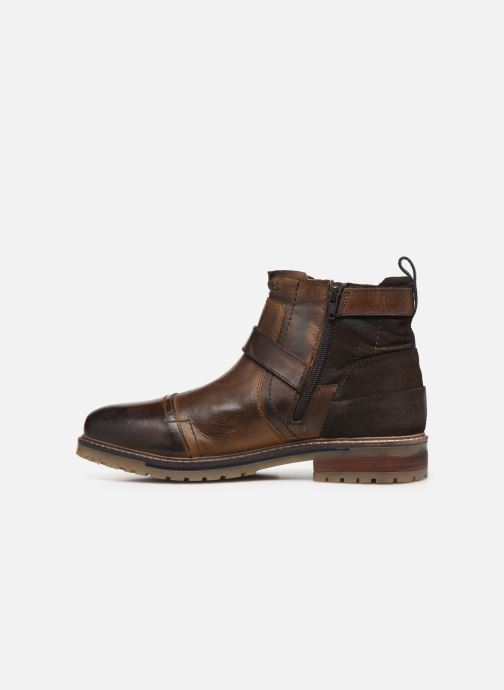 Ankle boots Dockers Jlo Brown front view