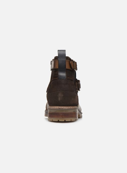 Ankle boots Dockers Jlo Brown view from the right