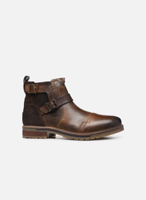 Ankle boots Dockers Jlo Brown back view