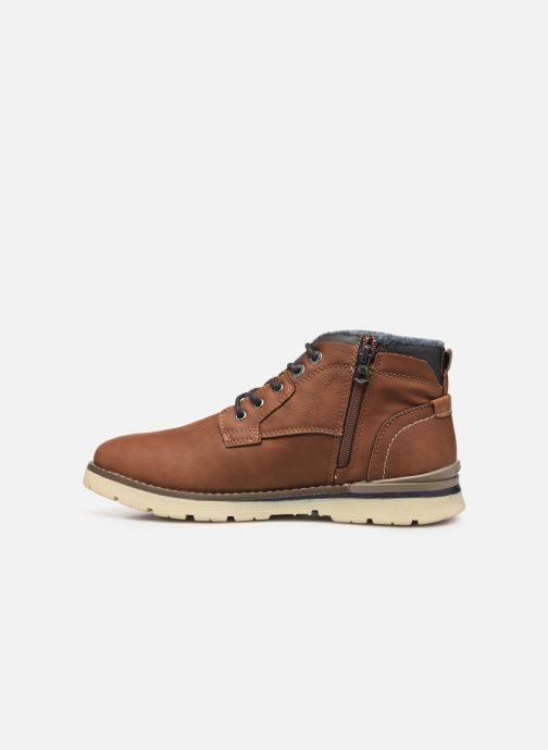Bottines et boots Dockers Kamil Marron vue face