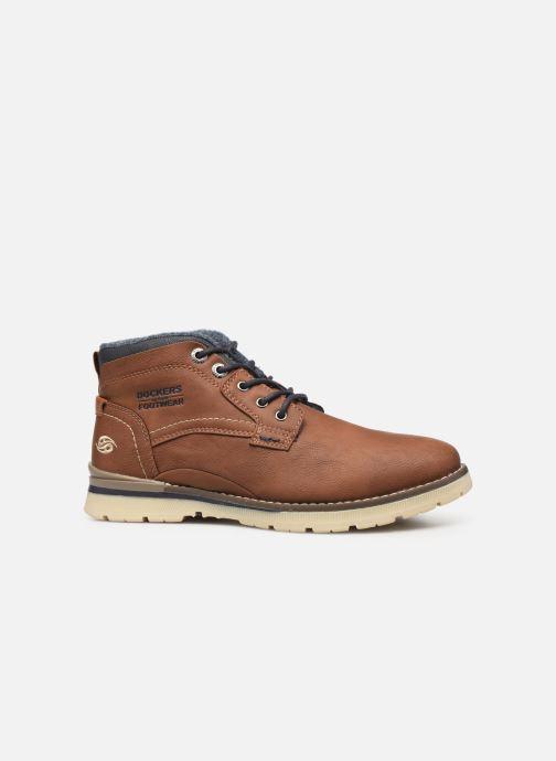Bottines et boots Dockers Kamil Marron vue derrière