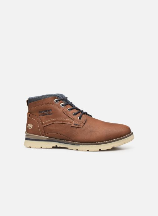 Ankle boots Dockers Kamil Brown back view