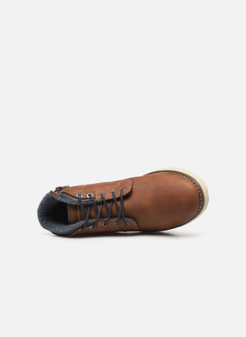 Ankle boots Dockers Kamil Brown view from the left