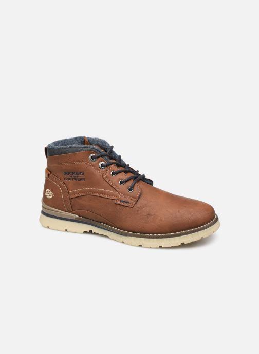 Bottines et boots Dockers Kamil Marron vue détail/paire