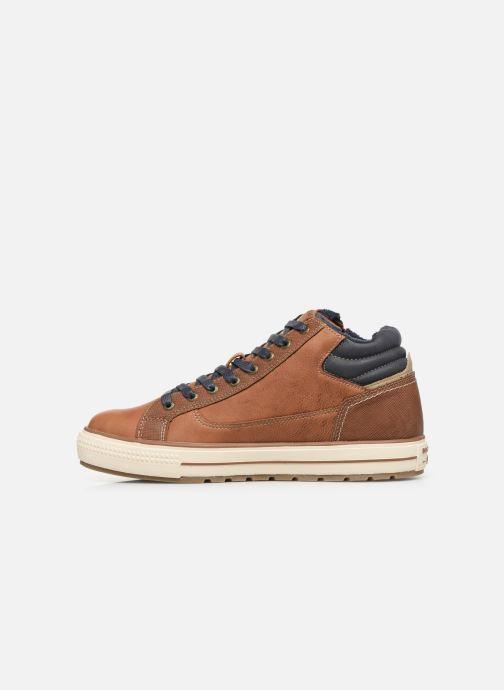 Sneakers Dockers Benoit Bruin voorkant