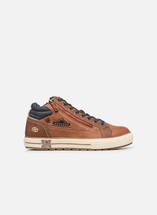 Sneakers Dockers Benoit Bruin achterkant