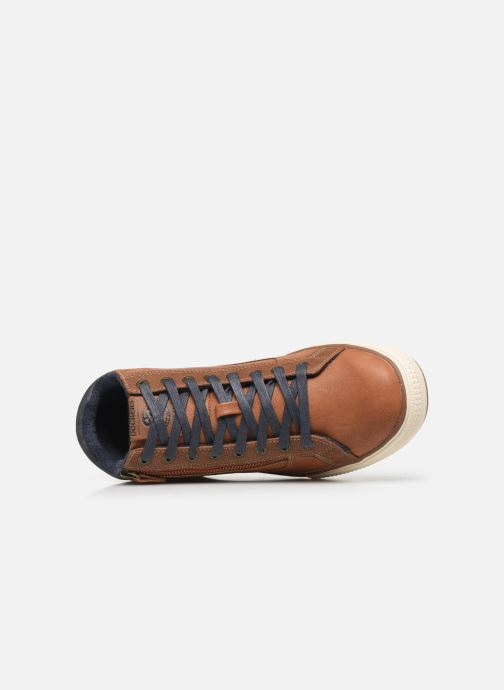 Baskets Dockers Benoit Marron vue gauche