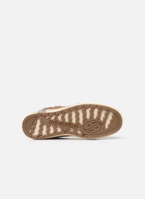 Sneakers Dockers Benoit Bruin boven
