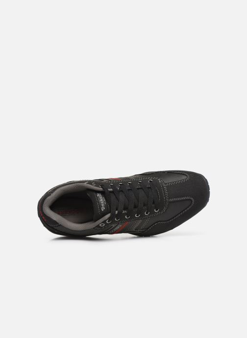 Trainers Dockers Patri Black view from the left