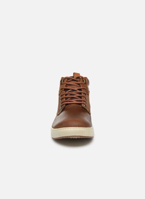 Baskets Dockers Liam Marron vue portées chaussures