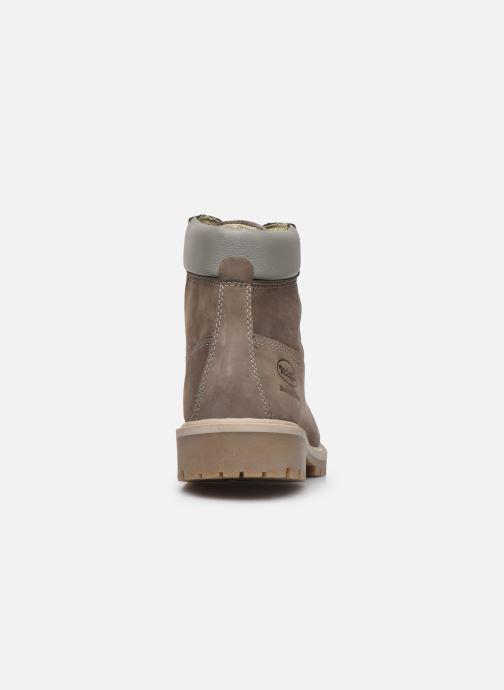 Stiefeletten & Boots Dockers Lola grau ansicht von rechts