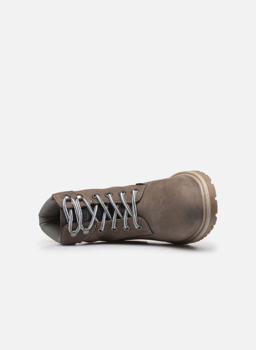 Stiefeletten & Boots Dockers Lola grau ansicht von links