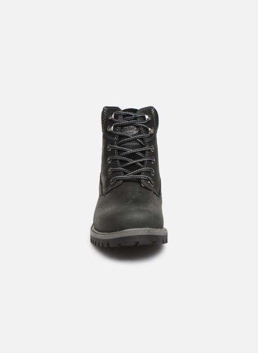 Bottines et boots Dockers Lola Noir vue portées chaussures