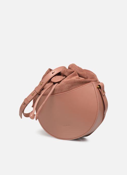 Bolsos de mano Nat & Nin Colette Rosa vista del modelo
