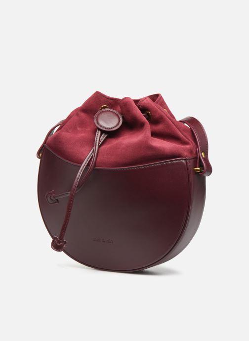 Handtassen Nat & Nin Colette Paars model