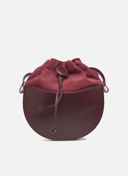 Handtassen Nat & Nin Colette Paars detail