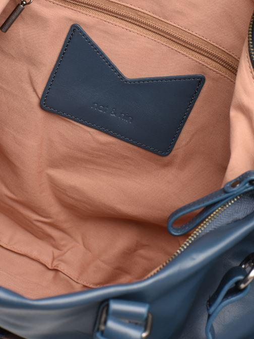 Handtassen Nat & Nin Noella Blauw achterkant