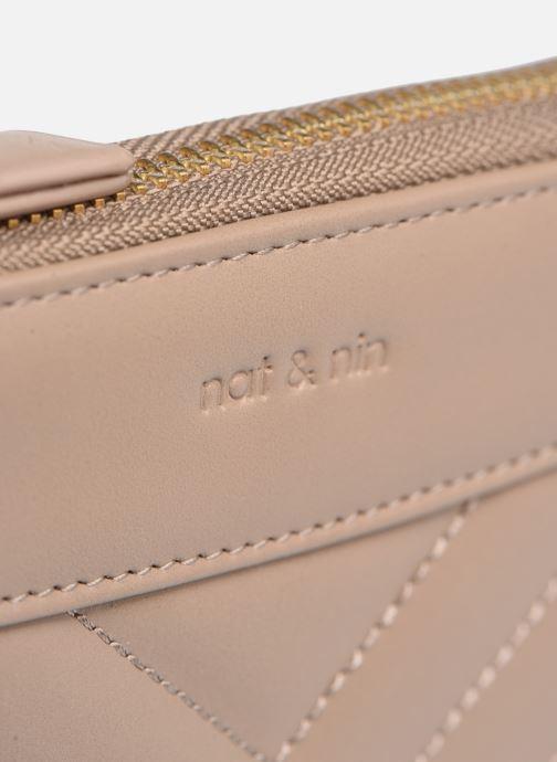 Portemonnaies & Clutches Nat & Nin Lena beige ansicht von links