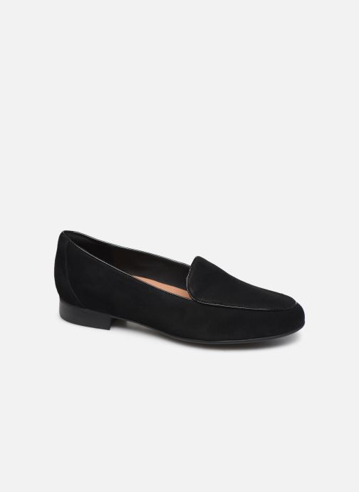 Mocassins Clarks Unstructured Un Blush Ease Noir vue détail/paire