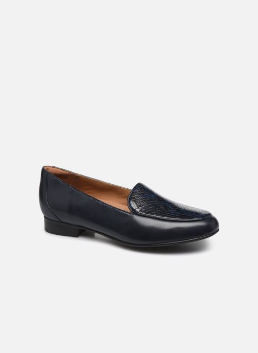 Mocassins Clarks Unstructured Un Blush Ease Bleu vue détail/paire