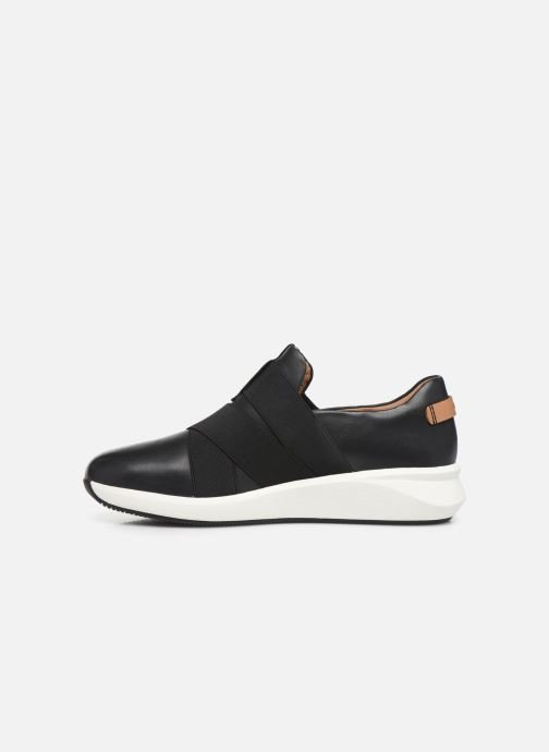 Baskets Clarks Unstructured Un Rio Strap Noir vue face