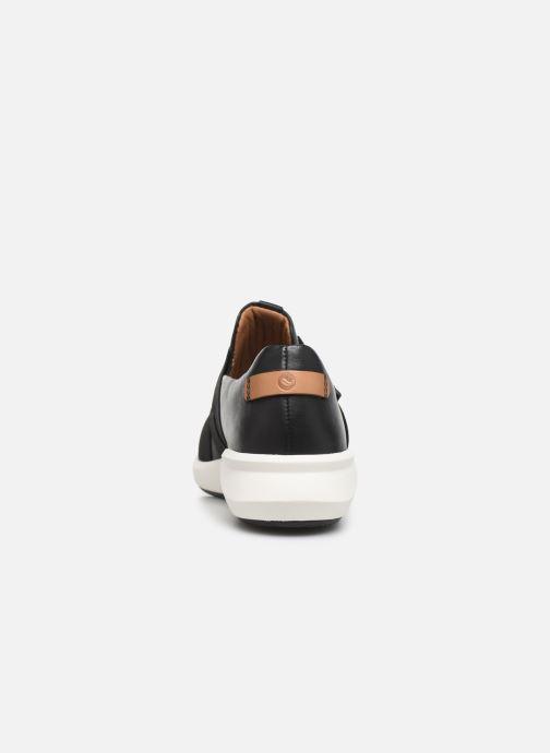 Sneakers Clarks Unstructured Un Rio Strap Nero immagine destra