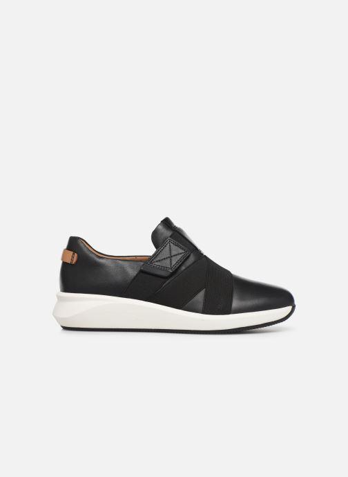Sneakers Clarks Unstructured Un Rio Strap Zwart achterkant