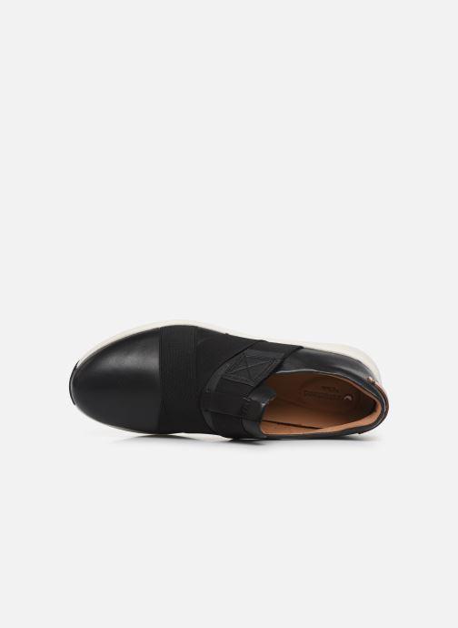 Sneakers Clarks Unstructured Un Rio Strap Nero immagine sinistra