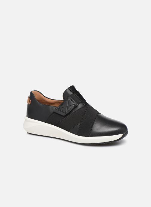 Sneakers Clarks Unstructured Un Rio Strap Zwart detail