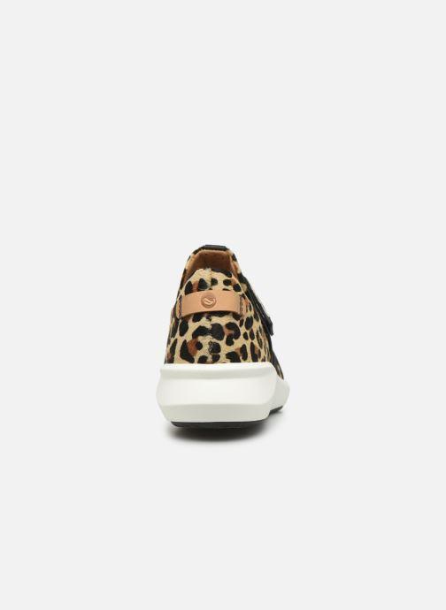 Sneaker Clarks Unstructured Un Rio Strap mehrfarbig ansicht von rechts