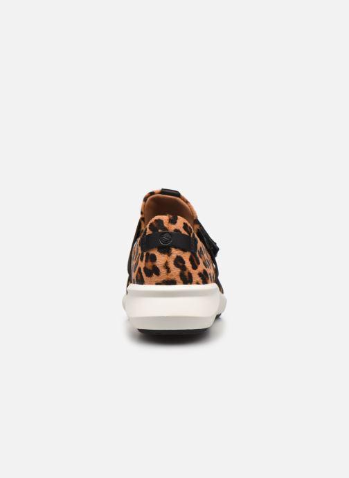 Sneaker Clarks Unstructured Un Rio Strap braun ansicht von rechts