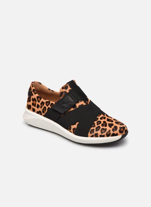Sneakers Clarks Unstructured Un Rio Strap Marrone vedi dettaglio/paio