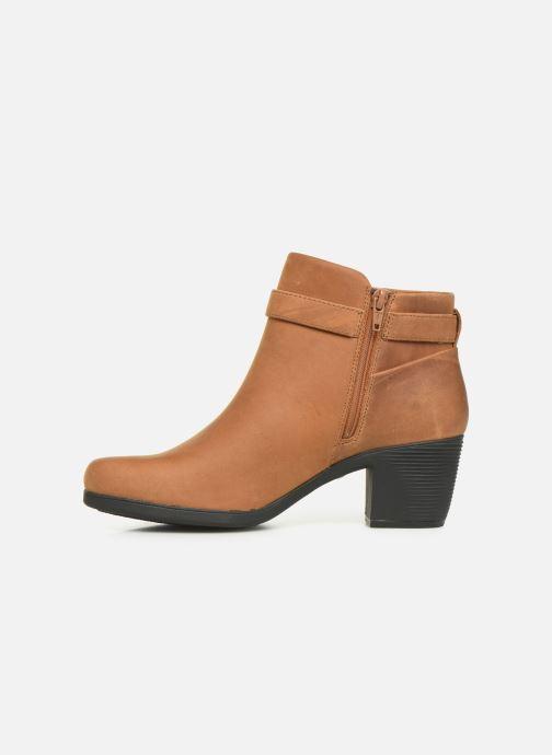 Stiefeletten & Boots Clarks Unstructured Un Lindel Lo braun ansicht von vorne