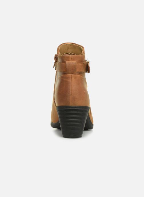 Bottines et boots Clarks Unstructured Un Lindel Lo Marron vue droite