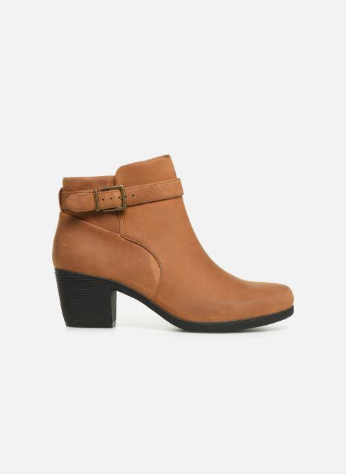 Bottines et boots Clarks Unstructured Un Lindel Lo Marron vue derrière