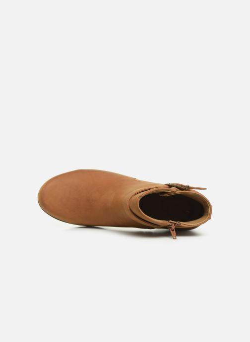Bottines et boots Clarks Unstructured Un Lindel Lo Marron vue gauche