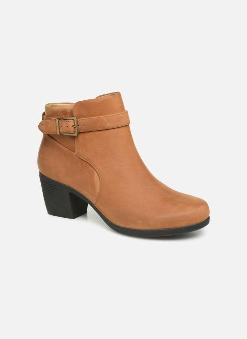 Bottines et boots Clarks Unstructured Un Lindel Lo Marron vue détail/paire