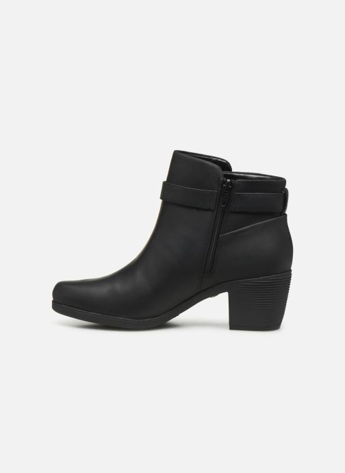 Stiefeletten & Boots Clarks Unstructured Un Lindel Lo schwarz ansicht von vorne