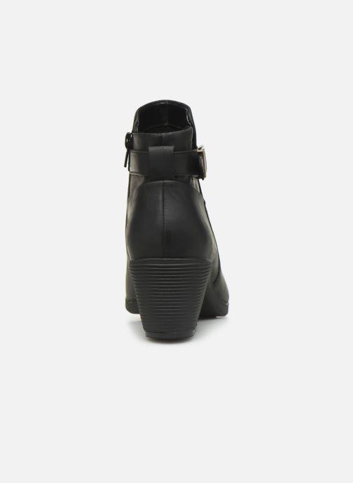 Stiefeletten & Boots Clarks Unstructured Un Lindel Lo schwarz ansicht von rechts