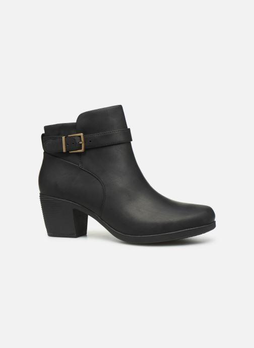 Bottines et boots Clarks Unstructured Un Lindel Lo Noir vue derrière