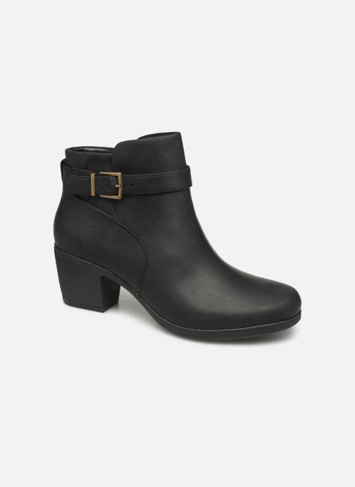 Bottines et boots Clarks Unstructured Un Lindel Lo Noir vue détail/paire