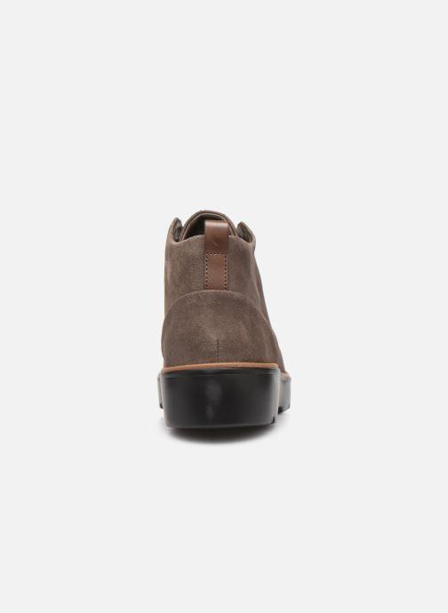 Boots en enkellaarsjes Clarks Unstructured Un Balsa Mid Bruin rechts