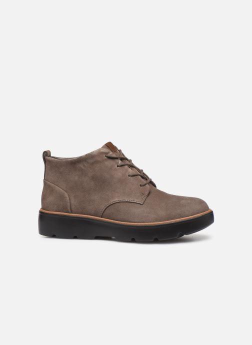 Boots en enkellaarsjes Clarks Unstructured Un Balsa Mid Bruin achterkant