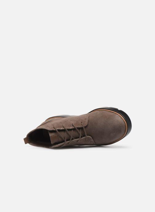 Bottines et boots Clarks Unstructured Un Balsa Mid Marron vue gauche