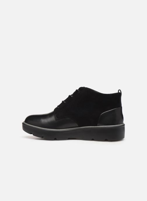 Bottines et boots Clarks Unstructured Un Balsa Mid Noir vue face