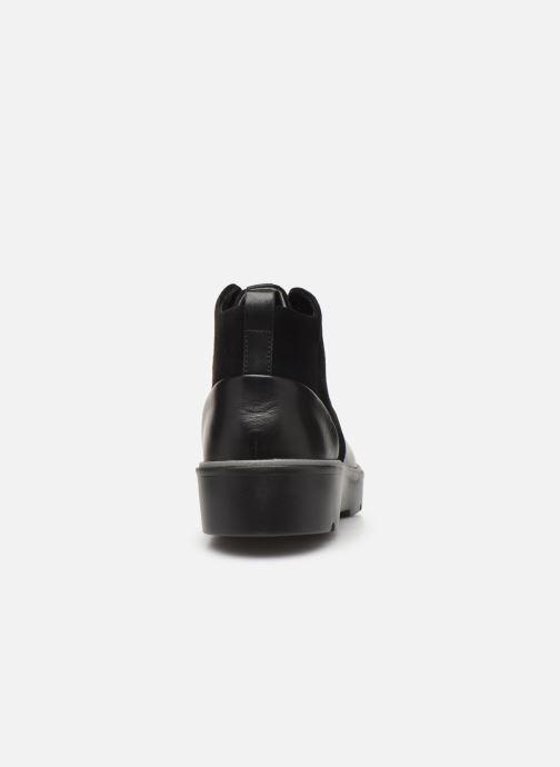 Bottines et boots Clarks Unstructured Un Balsa Mid Noir vue droite